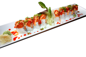 DELUXE ROLL - Rainbow Roll