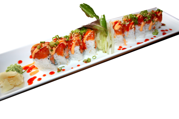 DELUXE ROLL - Spicy Salmon Mania Roll