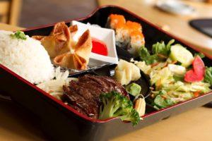 Lunch Bento - LB5 Salmon Teriyaki LB6 Chicken Katsu