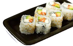 Lunch Sushi Combo - LS2 California Roll + Philadelphia Roll
