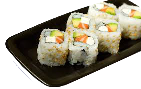 Lunch Sushi Combo - LS4 California Roll + Spicy Salmon Roll