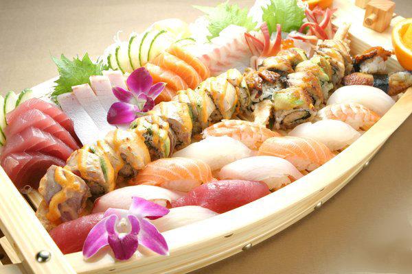 Sashimi-Sake-Salmon