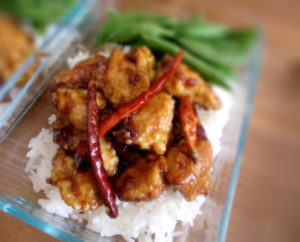 Lunch Chinese - L8 Sesame Chicken