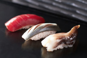 Nigiri - Ebi-Steamed Shrimp