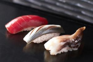 Nigiri - Ebi-Steamed Shrimp