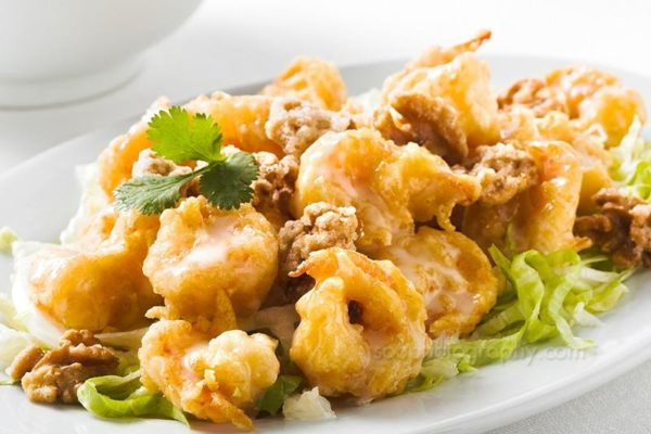 Signature Dishes - Shrimp with Lobster Sauce
