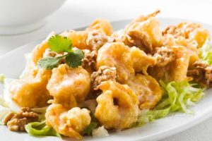 Signature Dishes - Volcano Shrimp